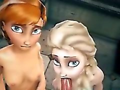 3D Anna Else Gefrorenes Hentai