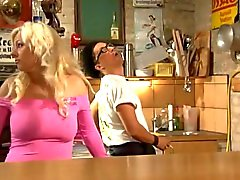 Tina ( salope German ) foutre cuisine - sperme sur
