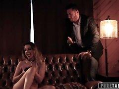 PURE TABOO Kristen Scott Emo Teen kiristää opettaja osaksi Raju seksi