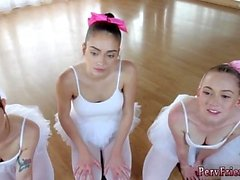Anal orja julkinen ryhmä ensimmäistä kertaa Ballerinat