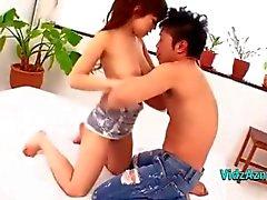 Chicas Asia Chicas de conseguir su coño Licked Sentada en su cara Novio En La Cama En El Bedroo