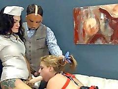 cute dildo anal sex with rope BDSM teacher
