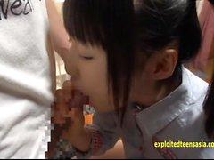 Jav Teen Asami Tsuchiya Gets Her Tiny Pussy Licked
