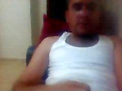 diversas individuos rectos pies en la webcam