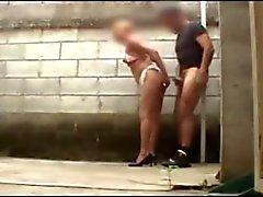 Prostitute calle de caído en cámara oculta