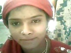 N.Indian una ragazza vasca schiera scopata con suo BF
