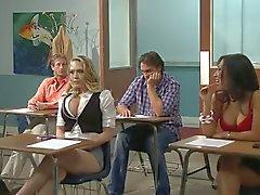 Kagney Linn Kater fucks her Italian teacher