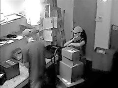 catturato da telecamera di sicurezza