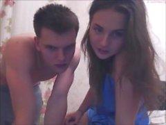 coppia hot dall'Europa orientale sulla altro show webcam Chaturbate