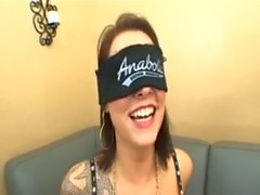 Chayse Evans gets blindfolded and fucked