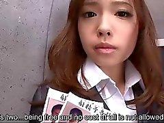 Subtitles - Japanese beauty Aiko Hirose in we