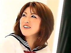 Красивый Возбужденный корейской девушки Banging
