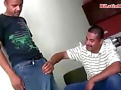 Bisexual Mexican men suck each other big uncut vergas