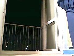 exposição na varanda