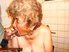 Raccolta di immagini della nonna fatta in casa LatinaGrannY
