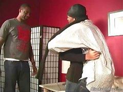 Emo guy joutuu gangbanged musta koiraat
