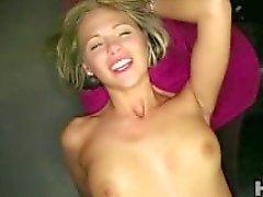 Blonde POV creampie