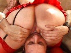 Anette ile birlikte seksi ayaklar games