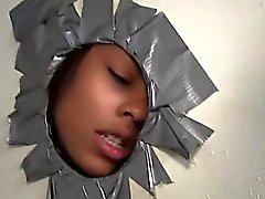 Gloryhole Baiser avec interraciaux et les faciale