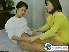 Japanese mom sucking his sons dick UNCENSORED arycams