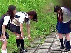 【】 JAPAN pipi Peeping pii pis écolière mignon