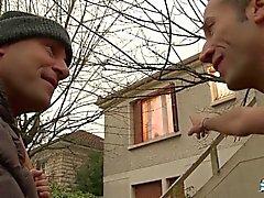 LaCochonne - Slutty ranskalainen muru loves double penetrationista