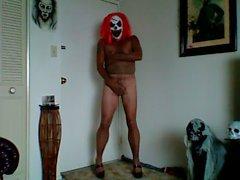 wahnsinnig Strumpfhosen Clown