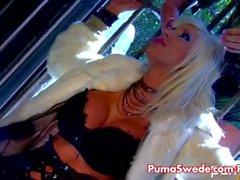 Hot Sex Lesbian svedese con Puma e di Sadie !