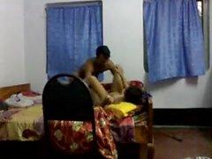 Desi Bangla Kushtia Panna professor mestre Cam estudante tituição