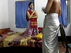 Desi Bangla Kushtia Panna ana öğretmen öğrenci tution Cam
