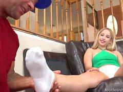 feticismo del piede femminile di Goldie