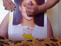 Bianca reverse gloryhole cumshot