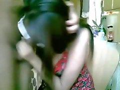 Super hete Desi Babe ophangen van een show op webcam