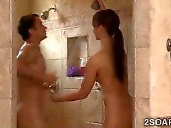 Schlanke Schönheit Massagen die Schwestern Ehegatten