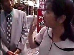 Buxom Oriental wife gets picked up outside and rammed hard