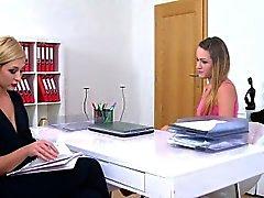 agente de lesbianas ama apretado coño