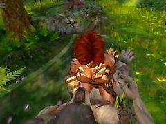 Werewolf, the lady riding 2