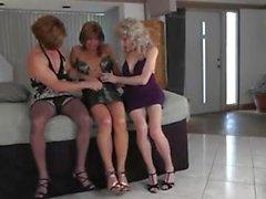 Şaşırtıcı eşcinsel damızlık grup seks