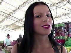Carne Del Mercado - Hot Pickup und ficken mit kolumbianischen jugendlich