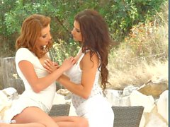 Victoria Daniels with Billie Star having lesbian sex pr