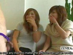 Sottotitolata giapponese CFNM di fimosi parti masturbation