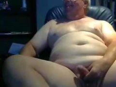 golpe de abuelo en la webcam