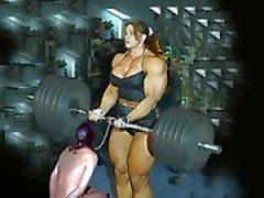Weiblicher Bodybuilding fbb Aufbau Mollige Frauen Domina