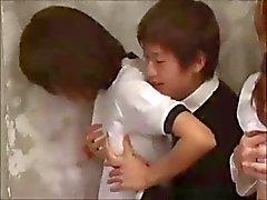 Härligt Japen School Girls suger och knullar du efter Bra Som betyg