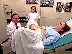 Um vídeo exame real de uma mulher peluda madura 2