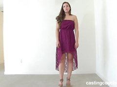 CastingCouch-HD Missy the tall girl love's bbc