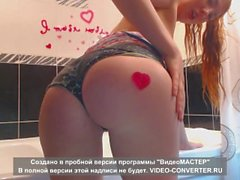 Lonely Russian Girl makes vid for Daddy