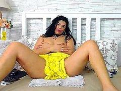 Webcam BBW show El vientre grande