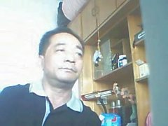 Chinesische alte Männer Cam Kollektion