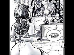 Erotische seksuele Fetish Fantasy Stripverhalen